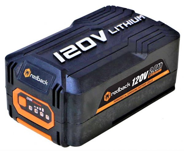 Pachet trimmer iarba cu acumulator (motocoasa) Redback EA314, 120V, 3Ah cu acumulator si incarcator rapid 4