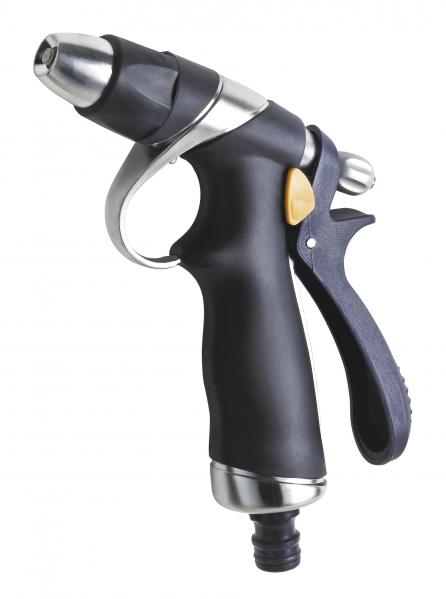 Pistol pentru stropit gradina FERRO DY2071A, din metal, cu jet ajustabil 0