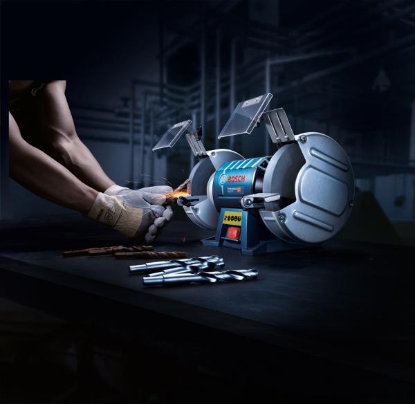Polizor de banc Bosch GBG 60-20, 600 W, 200 mm, 3600 RPM [4]