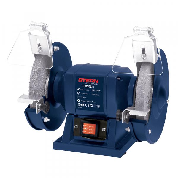 Polizor de banc Stern BG150SF+, 150 W, 150 mm, 2950 RPM 0