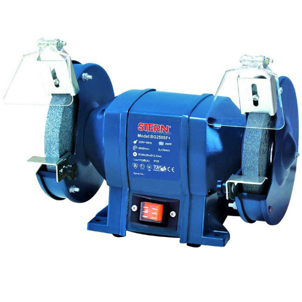 Polizor de banc Stern BG250SF+, 250 W, 150 mm, 2950 RPM 0