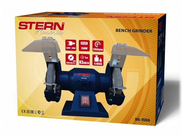 Polizor de banc Stern BG150A, 150 W, 150 mm, 2950 RPM 1