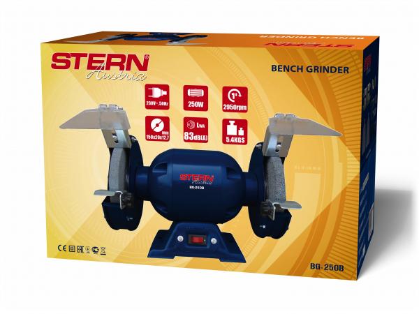 Polizor de banc Stern BG250B, 250 W, 150 mm, 2950 RPM 1