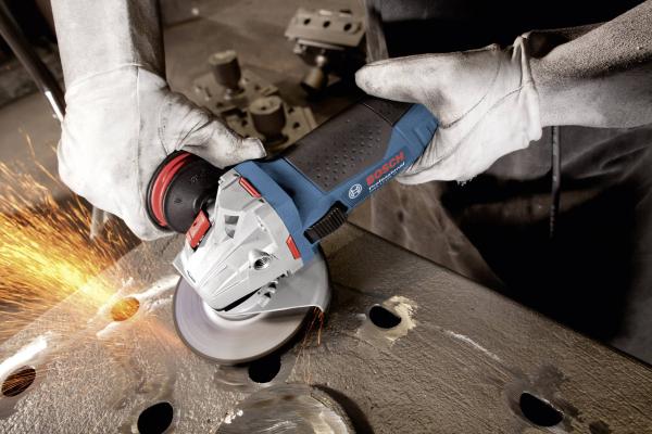 Polizor unghiular (flex) Bosch GWS 17-125 CIE, 1700 W, turatie variabila, 125 mm 2