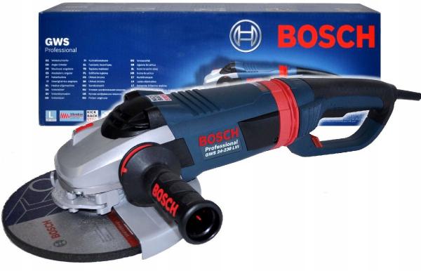 Polizor unghiular (flex) Bosch GWS 24-230 LVI, 2400 W, 6.500 rpm, 230 mm 2
