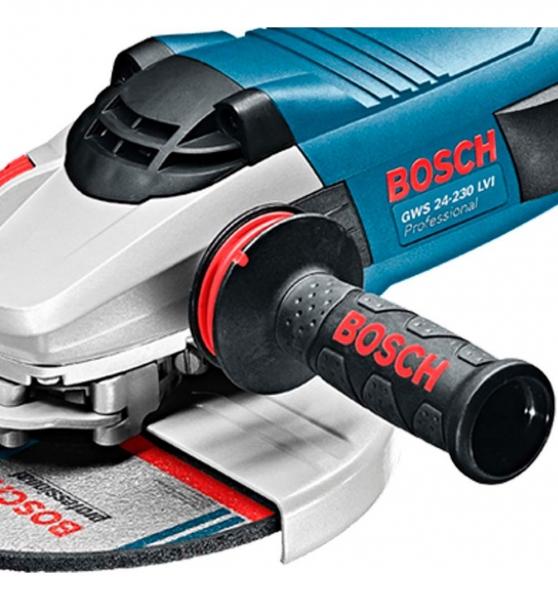 Polizor unghiular (flex) Bosch GWS 24-230 LVI, 2400 W, 6.500 rpm, 230 mm 1