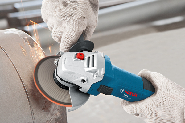 Polizor unghiular (flex) Bosch GWS 7-115 E, 720 W, turatie variabila, 115 mm 3