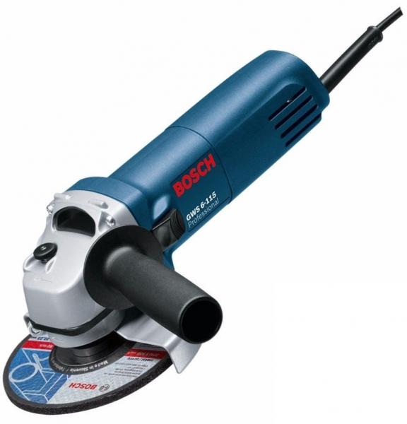 Polizor unghiular (flex) Bosch GWS 6-115, 670 W, 11.000 rpm, 115 mm 0