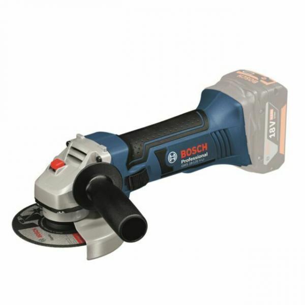Polizor unghiular (flex) cu acumulator Bosch GWS 18-125 V-LI, 18V, 11.000 rpm, 125 mm 0