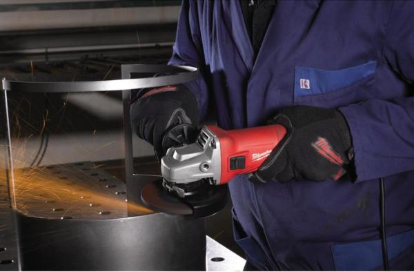 Polizor Unghiular (flex) Milwaukee AG10-125EK, 1000W, 11.000rpm, 125mm 1