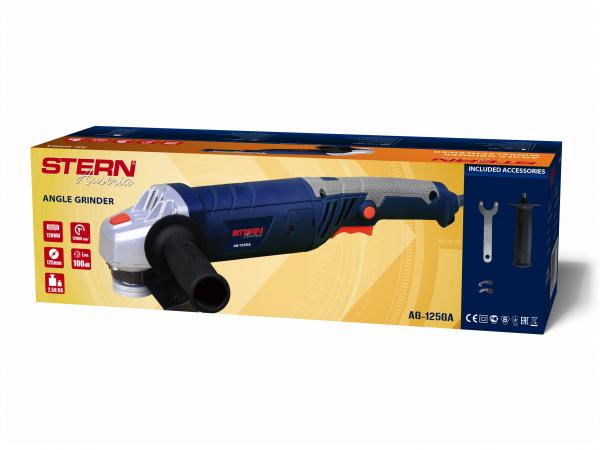 Polizor unghiular (flex) Stern AG125GA, 1200W, 12000 rpm, 125mm 1