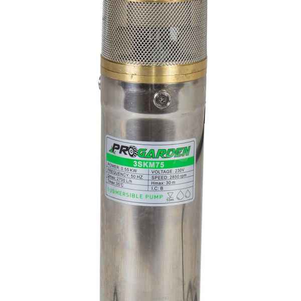 Pompa submersibila ProGARDEN 3SKM75, 750W, 45L/min, apa curata 1