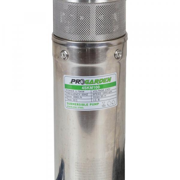 Pompa submersibila ProGARDEN 4SKM100-O, 750W, 45L/min, apa curata 1