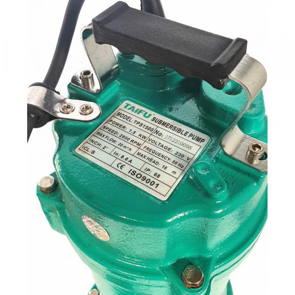 """Pompa submersibila Taifu TPS1500, 2"""", 1500W, 300L/min, tocator, apa murdara [1]"""