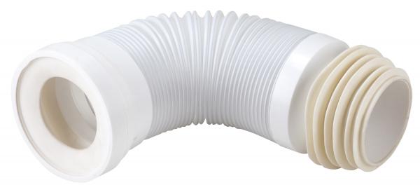 Racord felxibil/extensibil pentru vas wc FERRO 497.P, Lungime 270-630 mm, Diametru 90/110 mm 0