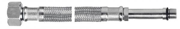 Racord flexibil pentru baterii FERRO WBS14,  3/8xM10x1, cu capat lung L=50cm 0