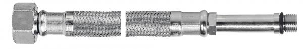 Racord flexibil pentru baterii FERRO WBS20, 1/2xM10x1, cu capat lung L=100cm 0