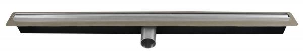 Rigola dus FERRO OLS1-65, inox Perfect Drain L= 650 mm, cu sifon DN40 incorporat 0