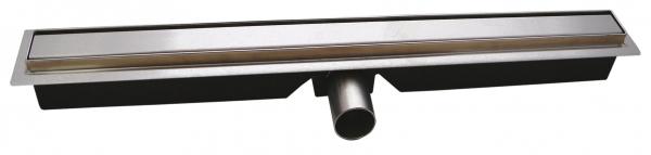 Rigola dus FERRO OLSP1-80, inox Slim Pro L= 800 mm, cu sifon incorporat DN40 0