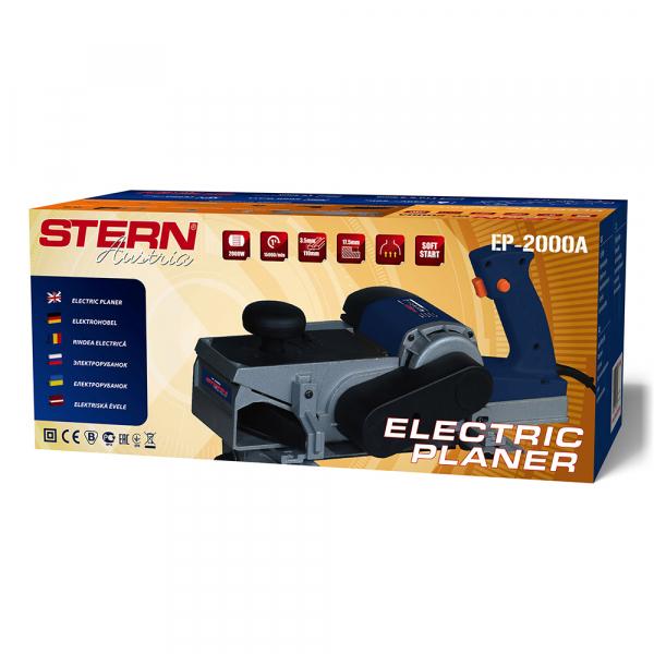 Rindea electrica de banc/manuala Stern EP2000A, 2000W, 3.5mm, 110cm, 15.000RPM, soft start 4