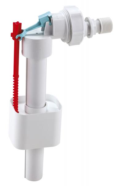 Robinet flotor universal FERRO 490.P, 3/8+1/2 cu alimentare laterala pentru rezervor wc [0]