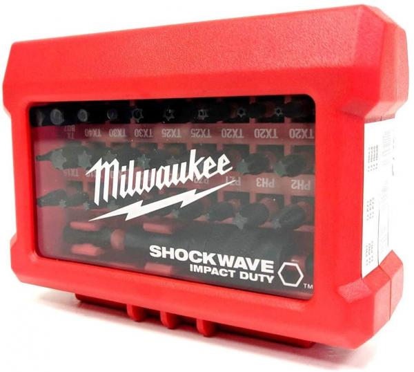 Set biti Milwaukee SHOCKWAVE™ IMPACT DUTY, 32 buc 2