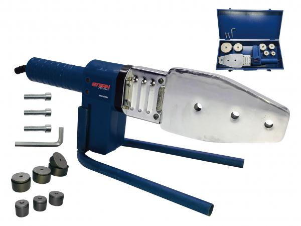 Plita lipit tevi polipropilena Stern PPW1000C, plita 800W, 6 bacuri 20-63mm 0