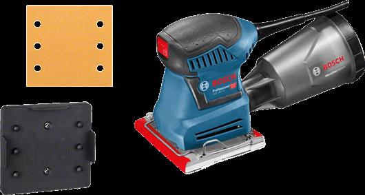 Slefuitor cu vibratii Bosch GSS 140-1 A, 180W, 113x101mm 2