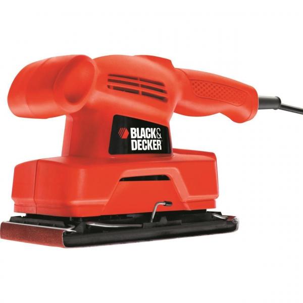 Slefuitor cu vibratii Black & Decker KA300, 135W, 92x230mm 0