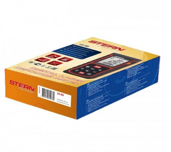 Telemetru digital cu laser Stern LD60, 60m max, 99 memorii, poloboc 1