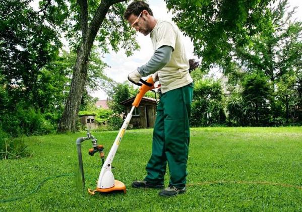 Trimmer iarba electric (motocoasa) Stihl FSE 31, 245W, 24 cm 1