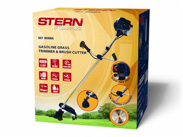 Trimmer iarba pe benzina (motocoasa) Stern GGT1600BA, 3.1CP, 52cm3 [2]