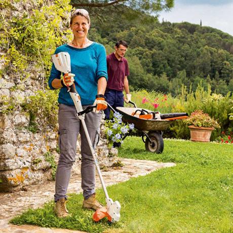 Trimmer iarba cu acumulator (motocoasa) Stihl FSA 56, 36W, 28 cm 1
