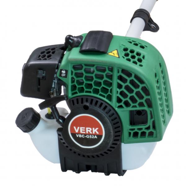 Trimmer iarba pe benzina (motocoasa) Verk VBC-G52A, 2.3CP, 52cm3 5