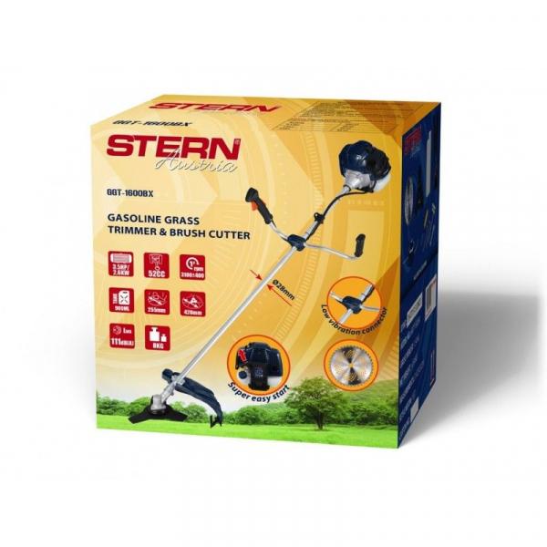 Trimmer iarba pe benzina (motocoasa) Stern GGT1600BX, 3.5CP, 52cm3 2