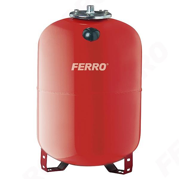 Vas expansiune stativ vertical FERRO CO80S, 80 litri, 8 bari pentru instalatii de incalzire 0