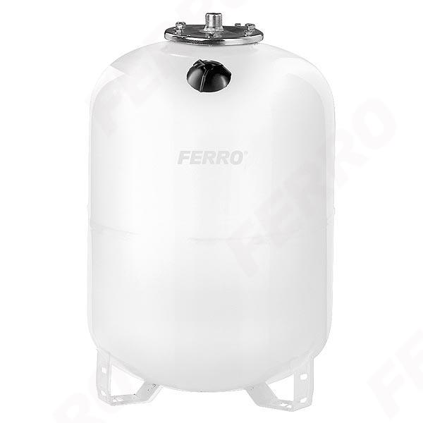 Vas expansiune stativ vertical FERRO SO50S, 50 litri, 10 bari pentru instalatii solare 0