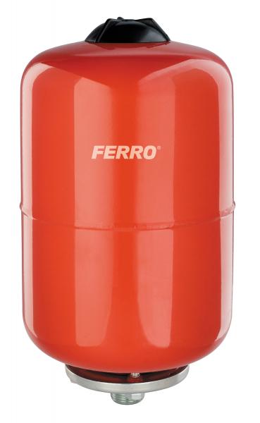 Vas expansiune suspendat vertical FERRO CO18W, 18 litri, 8 bari pentru instalatii de incalzire 0
