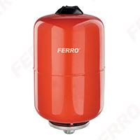 Vas expansiune suspendat vertical FERRO CO35W, 35 litri, 8 bari pentru instalatii de incalzire 0