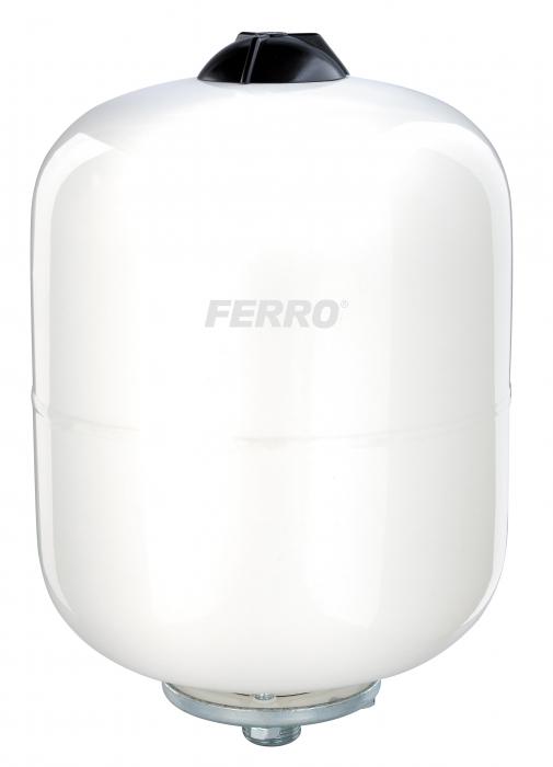 Vas expansiune suspendat vertical FERRO SO8W, 8 litri, 10 bari pentru instalatii solare 0