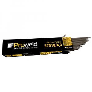 Electrozi bazici pentru sudura ProWELD E7018, 4mm/40cm, 170-200A, 5kg0