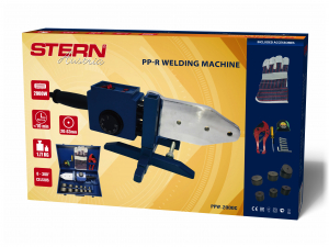 Set lipit tevi polipropilena Stern PPW2000C, plita 2000W, 6 bacuri 20-63mm, foarfeca tevi polipropilena5