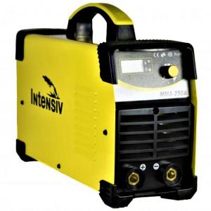 Aparat de sudura invertor Intensiv MMA 250, 20-250A, MMA, electrozi 1.6mm-4mm, bazici/rutilici/supertit