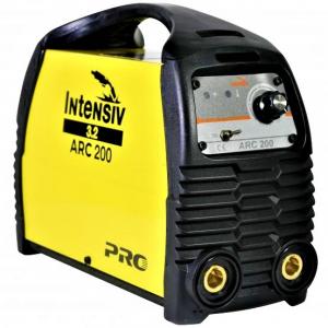 Pachet Aparat de sudura invertor Intensiv ARC 200 VRD, 10-200A, 9.4KvA, MMA/TIG, electrozi 1.6mm-4mm, bazici/rutilici/supertit1
