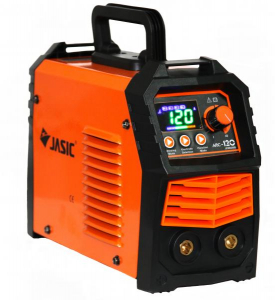Aparat de sudura invertor Jasic ARC 120 LED SYNERGIC, 20-120A, MMA, electrozi 1.6mm-3.2mm, bazici/rutilici/supertit