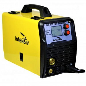 Aparat de sudura invertor Intensiv MIG 200 TRIO SYNERGIC, 10-200A, MIG-MAG/FLUX/MMA/TIG DC-Lift, GAS/NO GAS, sarma/FLUX 0.6-1mm0