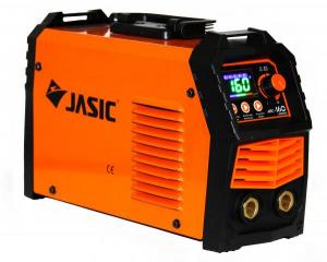 Aparat de sudura invertor Jasic ARC 160 LED SYNERGIC, 20-160A, MMA, electrozi 1.6mm-3.2mm, bazici/rutilici/supertit