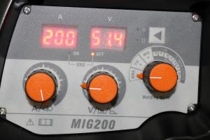 Aparat de sudura invertor Jasic MIG 200 SYNERGIC, 10-200A, MIG MAG MMA TIG Lift, GAS/NO GAS, electrozi/sarma/FLUX 0.6-1mm [2]