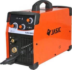 Aparat de sudura invertor Jasic MIG 180, 10-180A, MIG MAG MMA, GAS/NO GAS, electrozi/sarma/FLUX 0.6-1mm2