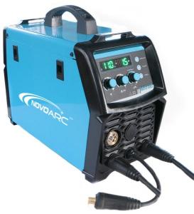 Aparat de sudura invertor Jasic NOVOMIG 180, 20-180A, MIG, MAG, MMA, GAS/NO GAS, electrozi bazici/rutilici/supertit 2-4mm, sarma/FLUX 0.6-1mm 5Kg